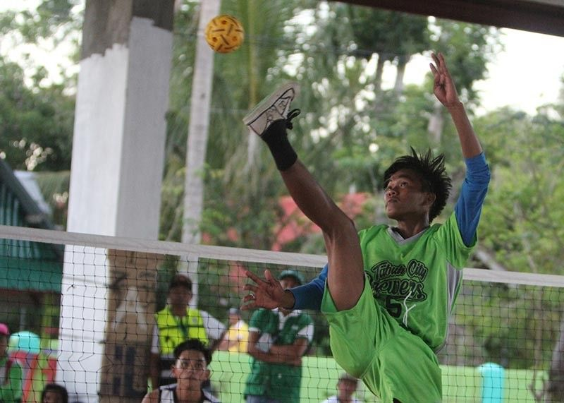BAGUIO. Aside from combative sports, sepak takraw, futsal and softball are among the team events were Cordillerans can excel to improve their medal standing in the upcoming Palarong Pambansa. (Roderick Osis)