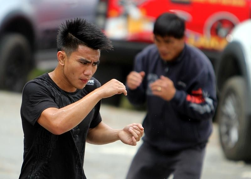 BAGUIO. After losing his strawweight title in January, Joshua Pacio is fueled by his hunger to recapture the title against tormentor Yosuke Saruta. (Roderick Osis)
