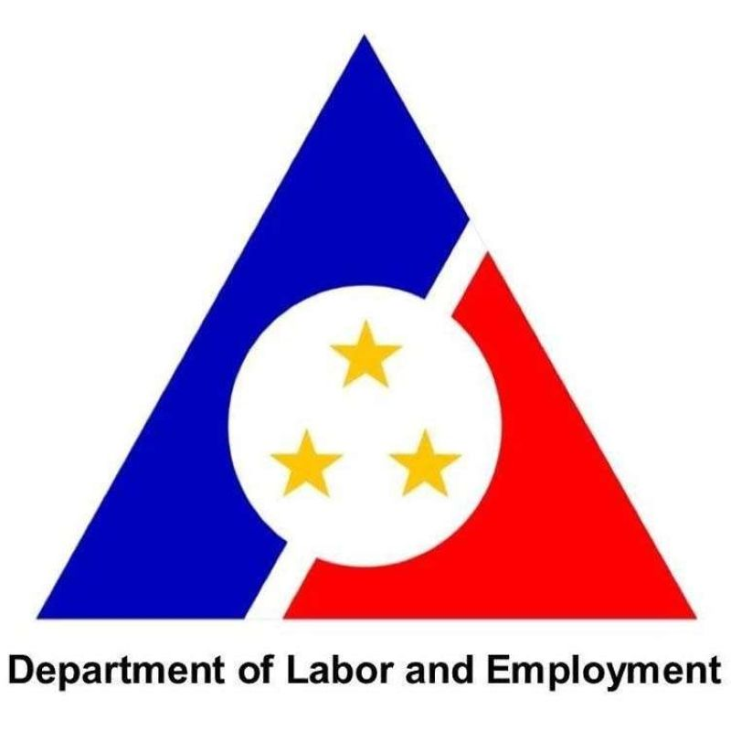 (Logo of Department of Labor and Employment)