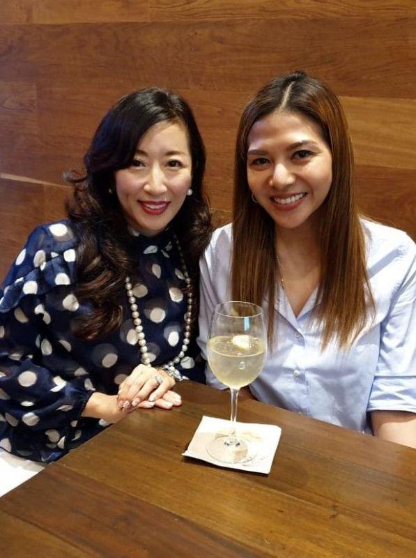 KUMIKO ONDA and Mitzi Lim