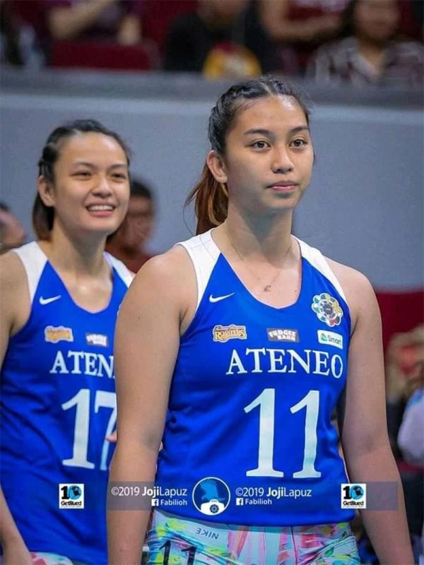 CAGAYAN DE ORO. Jersey No. 11 Erika Beatrice Raagas, formerly with St. Mary's School (SMS Fiat), is now a regular varsity player of Ateneo de Manila in the prestigious UAAP (University Athletics Association of the Philippines) Games. (Contributed photo)