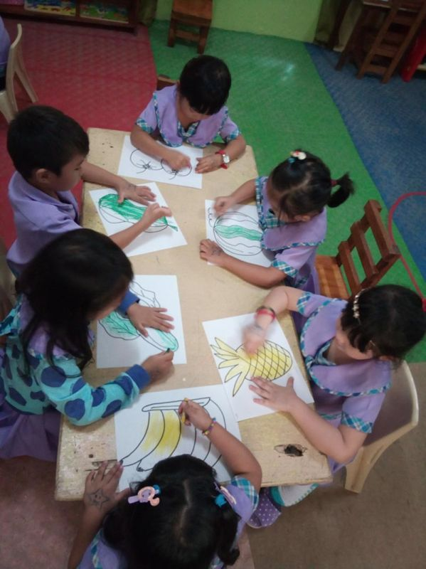 DAVAO. Some of the students in Learners Ports Early Childhood Education Center, Inc. (Photo by Emelia M. Osa)