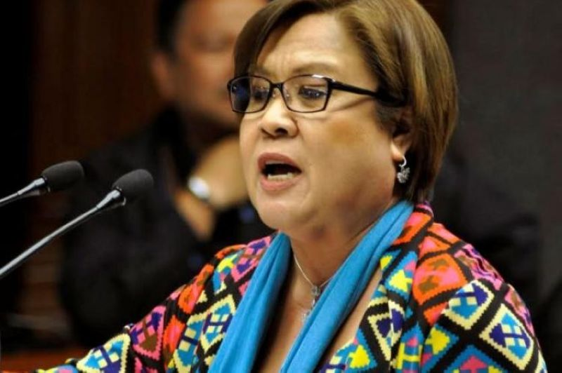MANILA. Senator Leila de Lima. (SunStar File)