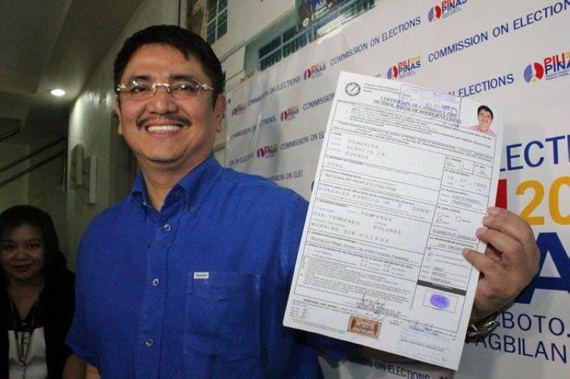 "PAMPANGA. Pampanga Third District Representative Aurelio ""Dong"" Gonzales Jr. (SunStar File)"