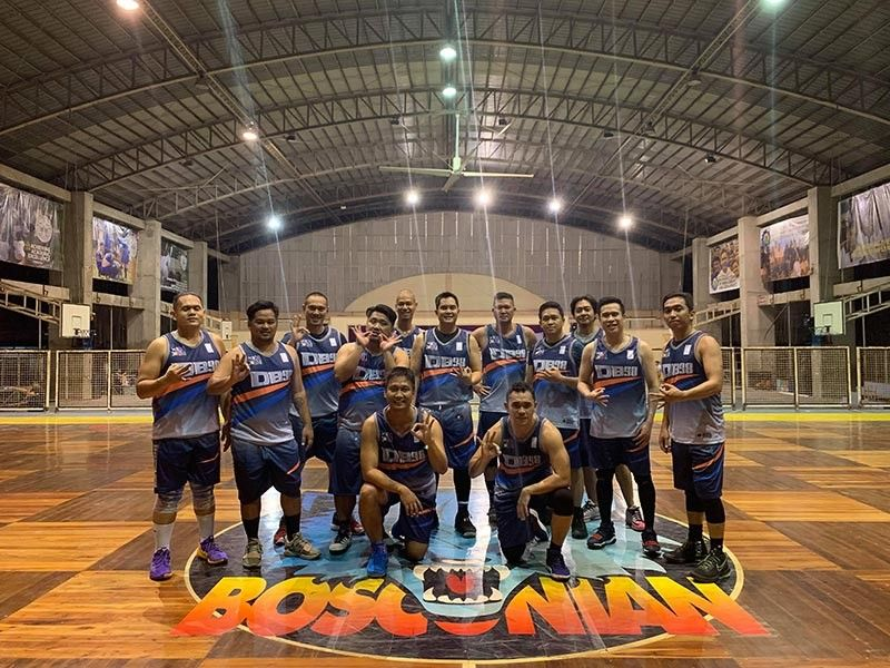 ON A ROLL. Batch '98 remains unbeaten and at the top of Division 1 of the Don Bosco Cup after winning its third straight game last Saturday, April 6, at the Don Bosco Technical College Gym. (Contributed photo)