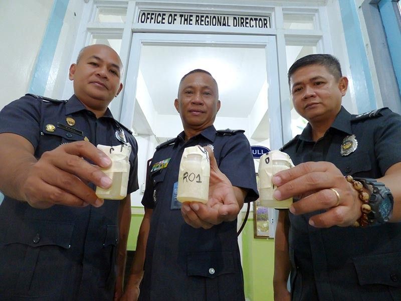 LEYTE. Top officials, along with personnel of the Bureau of Jail Management and Penology in Eastern Visayas submitted themselves to a surprise drug test on April 10, 2019. (Photo courtesy of BJMP-Eastern Visayas)