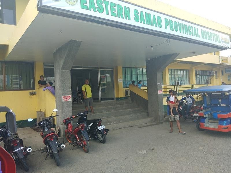 EASTERN SAMAR. The hospital operations at the Eastern Samar Provincial Hospital in Borongan City have been taken as model for benchmarking by the Provincial Government of Agusan del Norte. (Photo by Denis Hector Badajos)