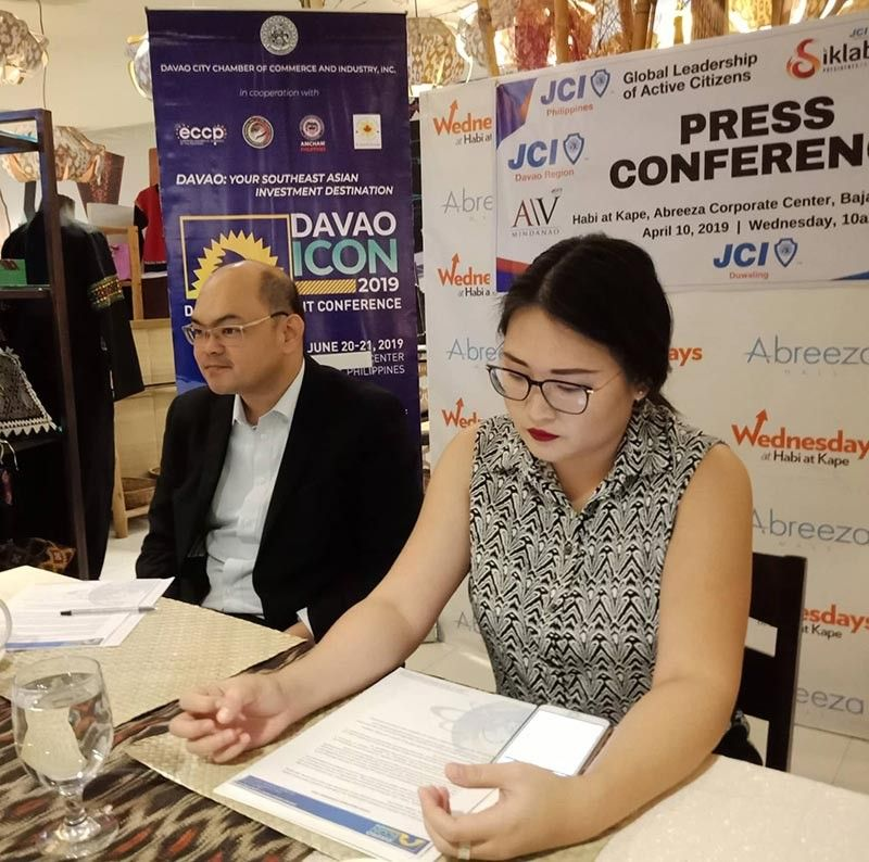 DAVAO. Davao City Chamber of Commerce and Industry, Inc. (DCCCII) executive vice president John Carlo Tria said major infrastructure projects in the city have been attracting investors. (Photo by Lyka Casamayor)