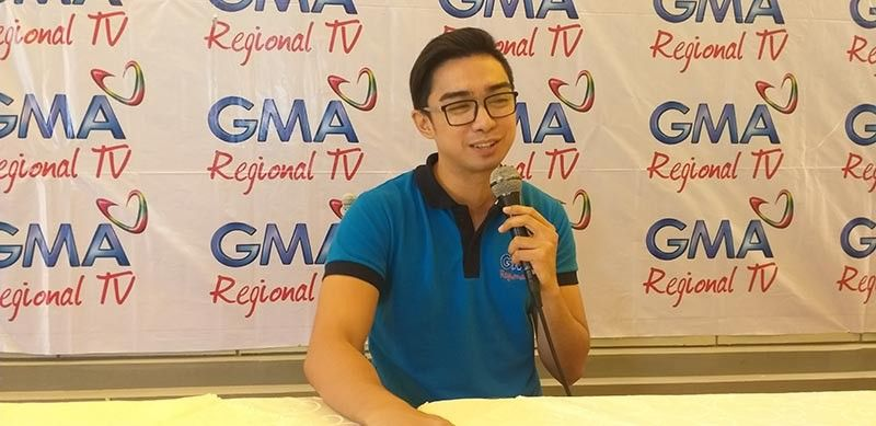 BACOLOD. One Western Visayas co-anchor Adrian Prietos in a press conference at Planta Hotel in Bacolod City Monday, April 8, 2019.