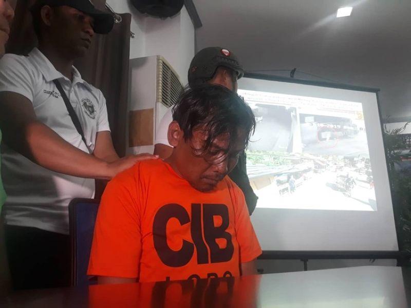 CEBU. The suspect who admitted to killing Christine Lee Silawan. (SunStar/Alan Tangcawan)