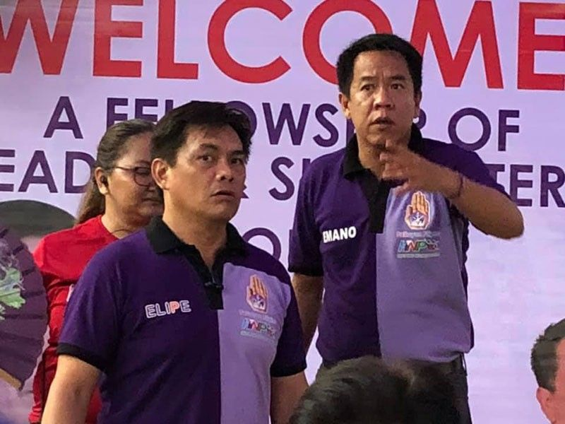 Pelaez Sports Center manager President Elipe and his brother-in-law, Misamis Oriental Governor Bambi Emano. (Contributed photo)
