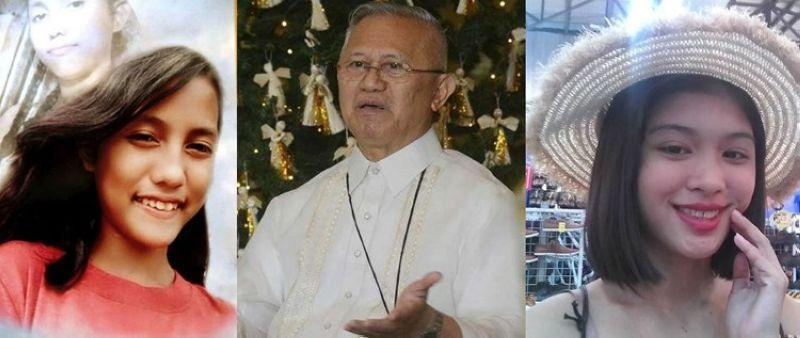 CEBU. Gikasubo ni Cebu Archbishop Jose Palma (tunga) sa linuog nga pagpatay nila ni Christine Lee Silawan (wala) ug ni Tesa Marie Ygay (too), ilabi nga nangandam ang Sugbo sa National Youth Day, usa ka dakong kalihukan sa Simbahang Katoliko para sa mga batan-on. (SunStar file photo)