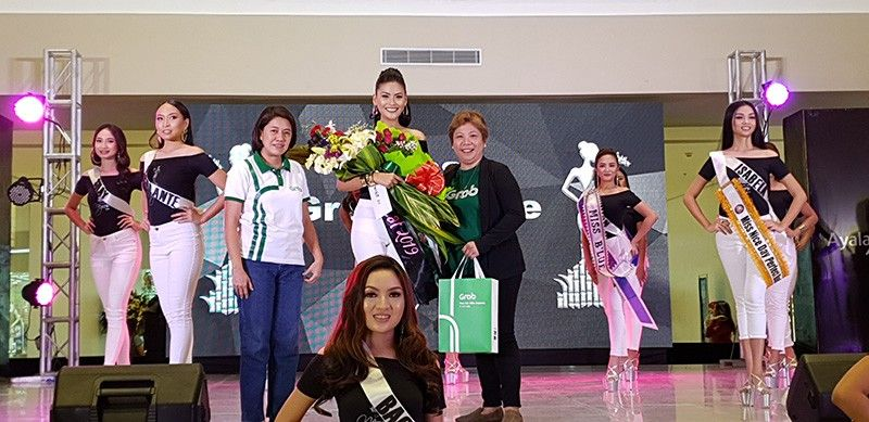 BACOLOD. These are the 26 lovely candidates of the 2019 search for the Lin-ay sang Negros queen during the awarding rites for special/corporate awards category. This was held at the event center of the Ayala Malls Central, Gatuslao Street, Bacolod City, April 10. (Photo by Carla N. Canet)