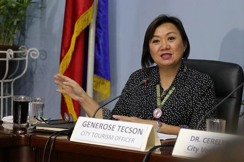 Davao City Tourism Operations Office head Generose Tecson (File photo)