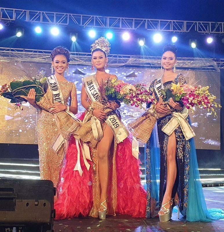 Lin-ay Sang Talisay City Roxanne L. Toleco, 19, Lin-ay sg Talisay 2019 named as the 2019 Lin-ay sang Negros Queen. (Carla N. Cañet)