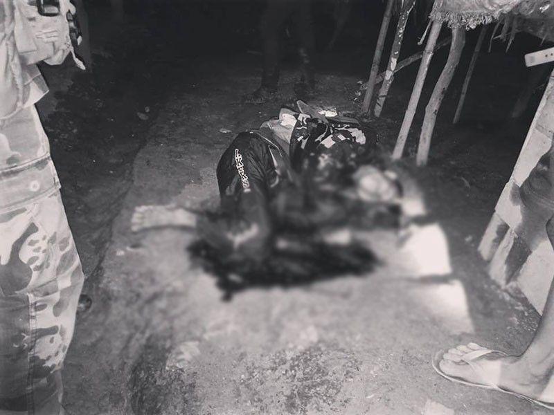 SAMAR. Dead gunman Zosimo Casaljay (Photo courtesy of Marie Tonette Grace Marticio)
