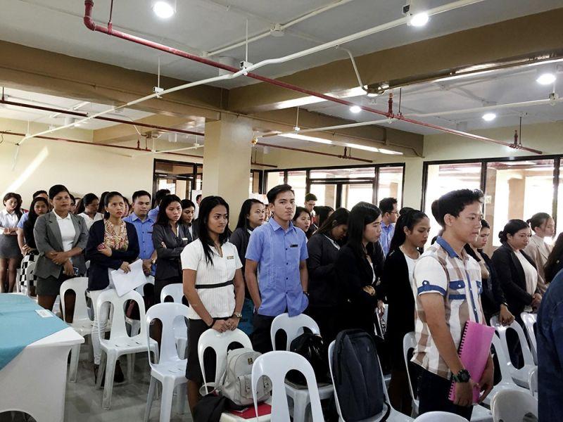 Lapu-Lapu City College holds 1st job fair