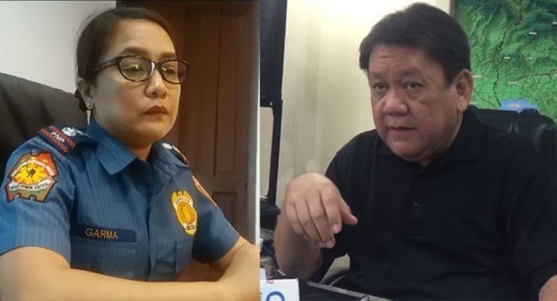 Cebu City Police Office Chief Royina Garma (left) and Cebu City Mayor Tomas Osmeña (right). (SunStar file)