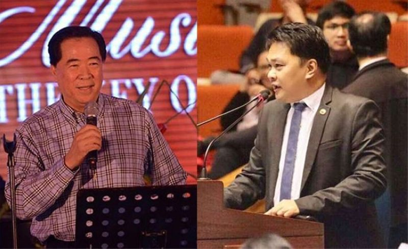 BACOLOD. Former Bacolod City representative and former mayor Monico Puentevella and incumbent Representative Greg Gasataya. (SunStar File)