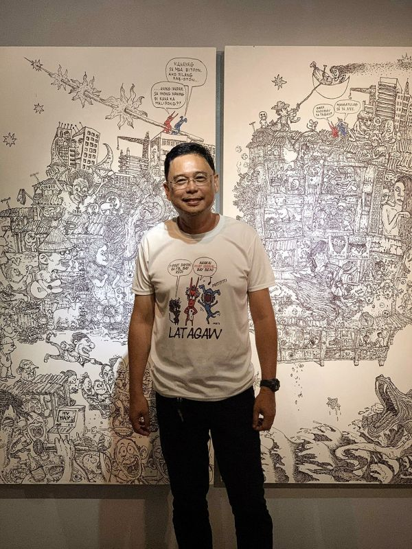 CEBU. Artist and SunStar Cebu art director Josua S. Cabrera. (SunStar Cebu)