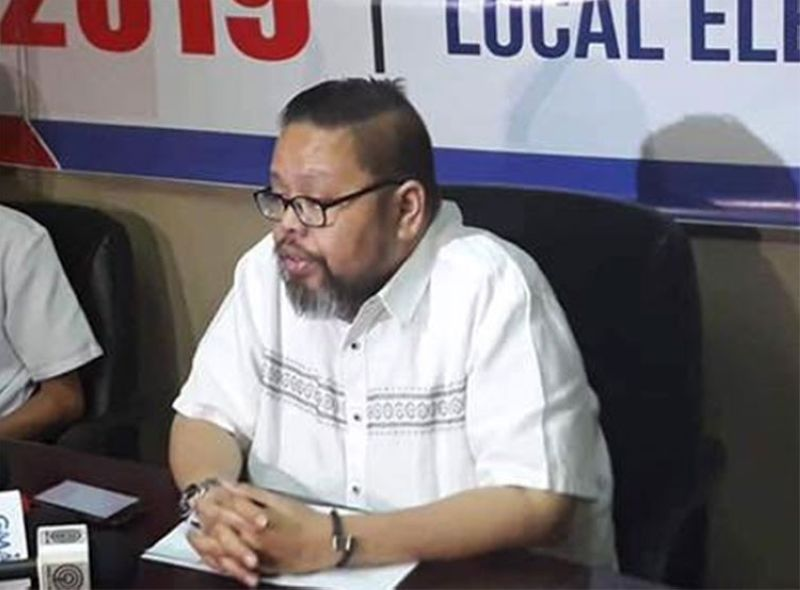 MANILA. Commission on Elections spokesman James Jimenez. (Photo from Comelec Facebook page)