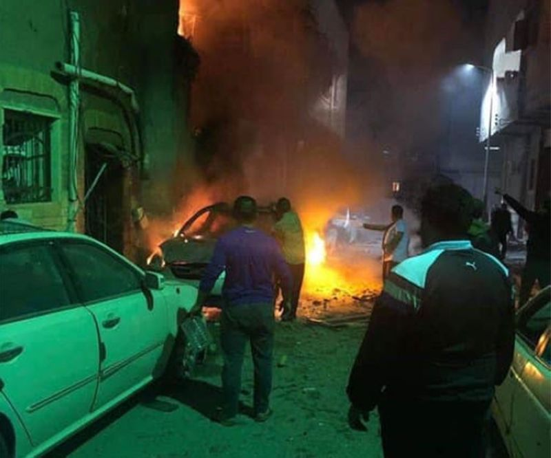 LIBYA. Several residential areas in Tripoli, Libya were hit by a rocket barrage Tuesday, April 16, said Chargé d'Affaires Elmer Cato in a Facebook post. (Photo from Cato's Facebook account)