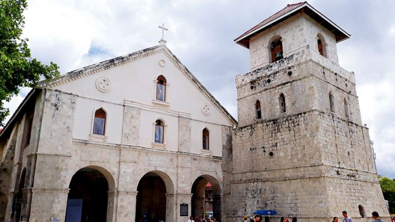 TEST OF TIME. One of the oldest churches in the country, the Immaculate Concepcion Church in Baclayon.