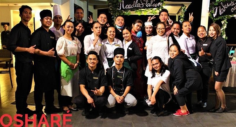 With the Grand Sierra staff surely making staycations fun and memorable. (Photo by Osharé)