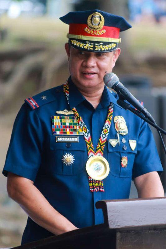 Police Regional Office- Davao Regional Director Marcelo Morales