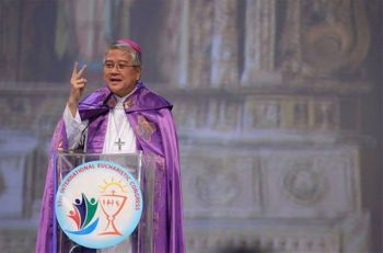 Former Catholic Bishops Conference of the Philippines president Archbishop Socrates Villegas (File Photo)