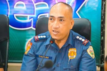 Davao City Police Office Director Alexander Tagum