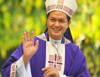 Catholic Bishops Conference of the Philippines  vice president Bishop Pablo Virgilio David (SunStar file)