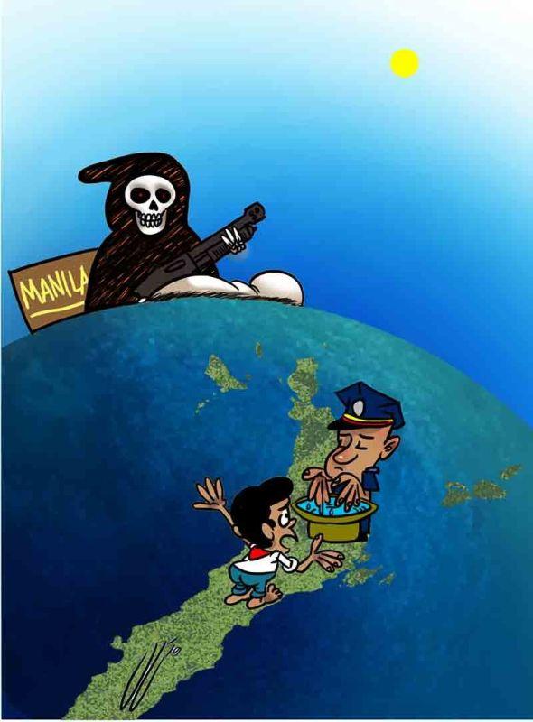 Editoryal Cartoon by John Gilbert Manantan