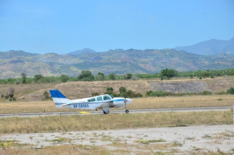 Cloud seeding operation in Region 12 (Photo from Philippine Information Agency)