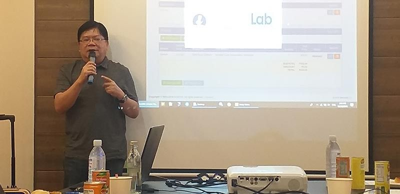 BACOLOD. Department of Science and Technology Western Visayas director Rowen Gelonga in one of the agency's activities in Bacolod City recently. (Photo by Erwin P. Nicavera)