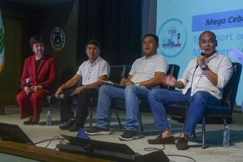 BAKUD BETS.(From left) Compostela vice mayoral bet Josephine Abing, Compostela mayoral bet Froilan Quiño, Liloan vice mayoral bet Jimmy Maglasang  and reelectionist Rep. Red Durano. (SunStar photo / Arni Aclao)