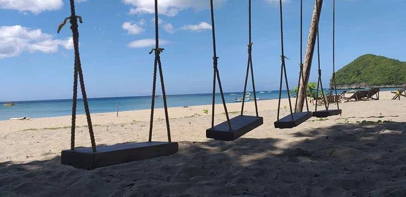 SIPALAY. The fine sand at the Sugar Beach. (Erwin P. Nicavera)