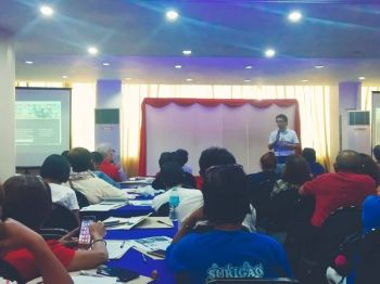 SUGBO. Gihimo ang una nga Local Community Consultation sa National Anti-Poverty Commission sa Sugbo, Martes, Abril 23. (Hulagway iya ni Fe Marie Dumaboc)