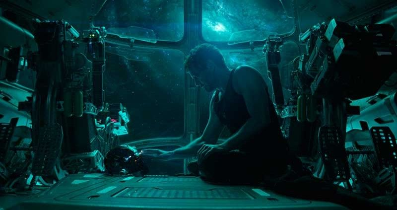 "This image released by Disney shows Robert Downey Jr. in a scene from ""Avengers: Endgame."" (AP)"