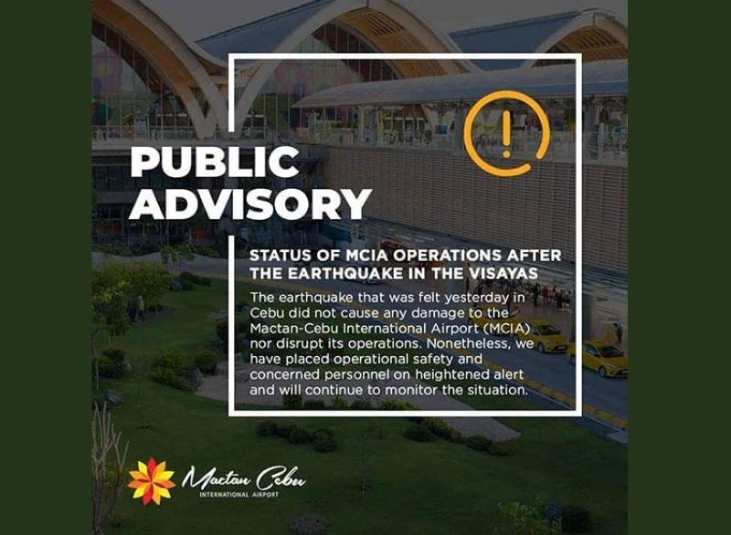 Courtesy of the Mactan Cebu International Airport