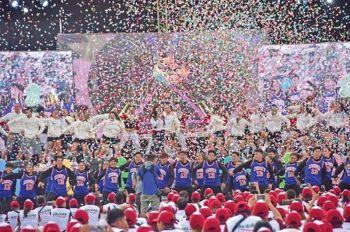 DAVAO. Davao Region Athletic Association 2019 grand opening. (Photo by Mark Perandos)