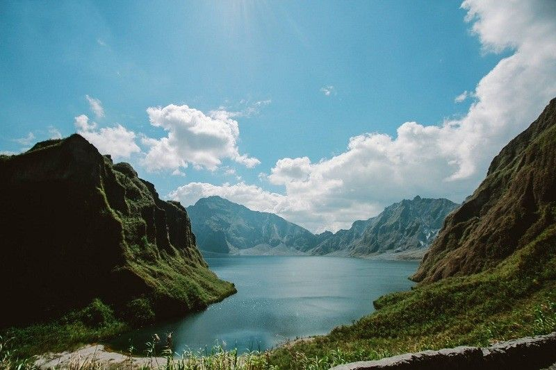 Mt. Pinatubo (photo from pexels)