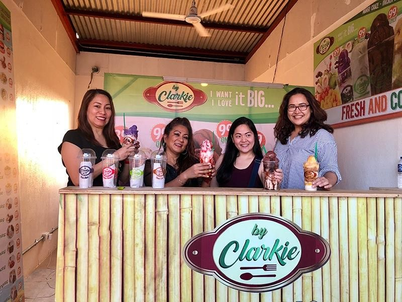 CAGAYAN DE ORO. Big enough to share but why do that, right? Chilling with Noemi, Elsa, Aireen, and me (the writer). (Hannah Wabe)
