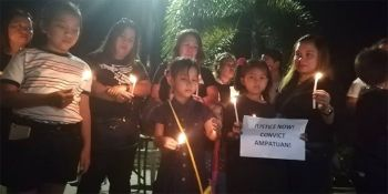 GENERAL SANTOS. Mindanao journalists and families of slain members of the media in the Maguindanao massacre held a commemoration on Wednesday, April 24 in General Santos City to remember the victims of the deadliest case of media killings in the country. (PJ Orias)