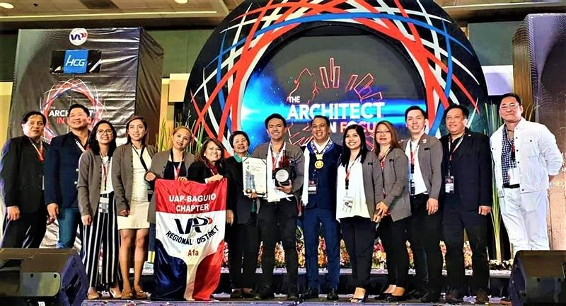 United Architects of the Philippines Baguio City Chapter bagged the Outstanding Local Chapter, and received nominations on Outstanding Programs for the World Architecture Day, CPD, Bayanihang Arkitektura, Green Architecture, Heritage Conservation, Unity and Camaraderie, and Media and Public Relations. (Contributed photo)