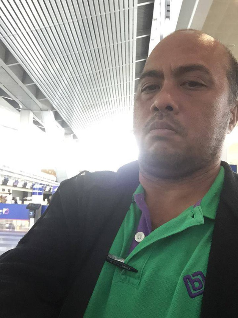 LEYTE. Broadcast journalist Eric Tupaz. (Contributed photo)