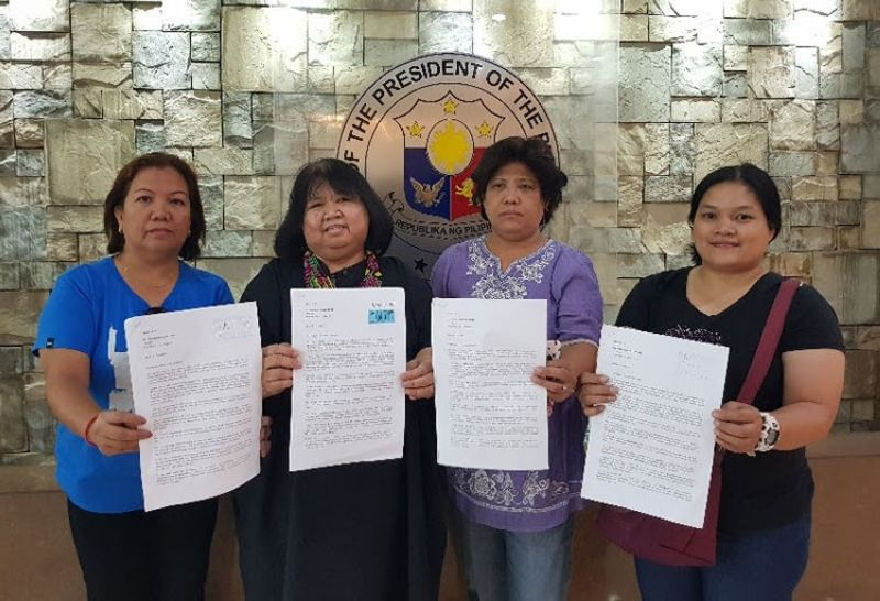 MANILA. Teachers groups sent a letter to the Office of the President to ask President Rodrigo Duterte to fulfill his promise to increase the salary of teachers. (Contributed photo)