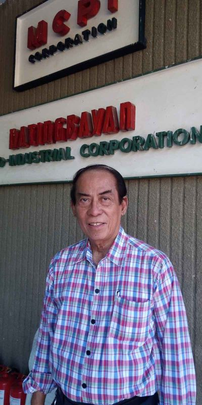 RISING TO THE CHALLENGE. Maximo Ricohermoso already had a thriving career but chose to make it on his own by processing seaweed for foreign companies. (Contributed Photo)