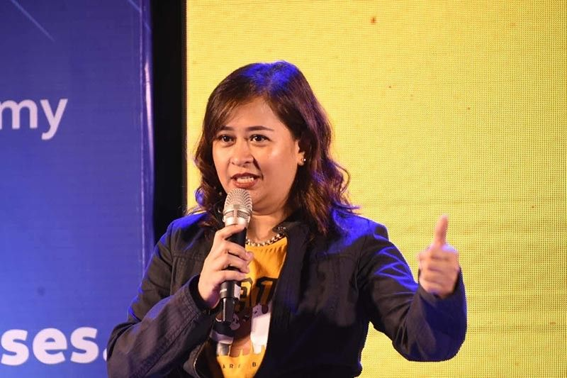 DISCUSSION. Globe myBusiness senior director for business development and service delivery Grace Anduiza says business owners think digital solutions are too expensive. (SunStar Photo/Allan Cuizon)