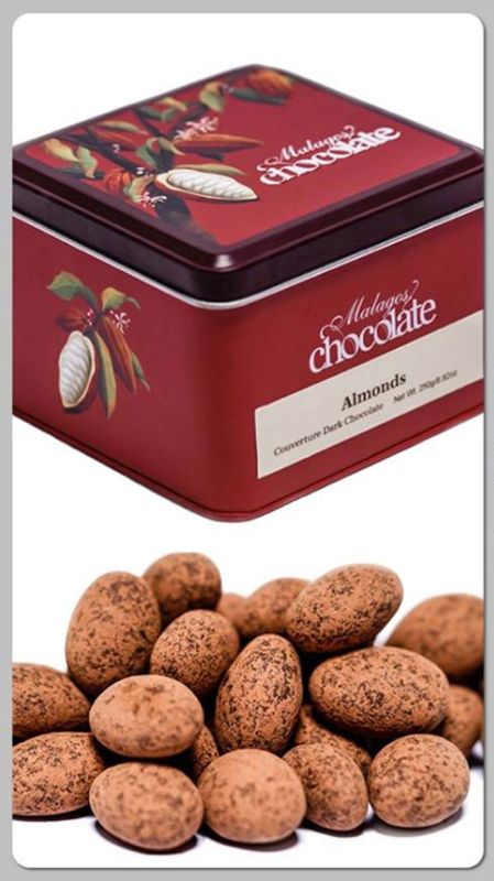 DAVAO. Malagos Chocolate's Almonds in Couverture Dark Chocolate bagged the bronze in the Panned/Enrobed Fruits & Nuts category of the Academy of Chocolate. (Malagos Chocolate photo)